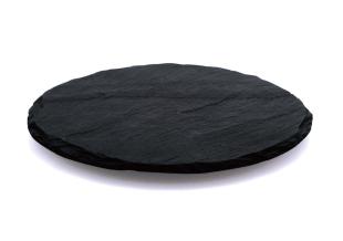 円形ラフカット(台付プレート)