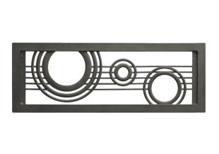 水面ロングプレート Iron-Black