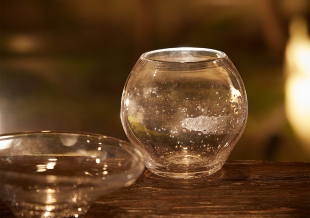 【天の川駆けるガラスの器】ランタンボウル/ミルキーウェイ