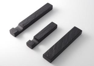 【石のカトラリーレストの定番】箸置き、カトラリーレストのご紹介2  /すずり石